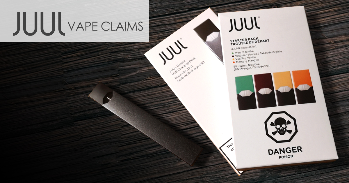 JUUL lawsuits focus on flavoured pods